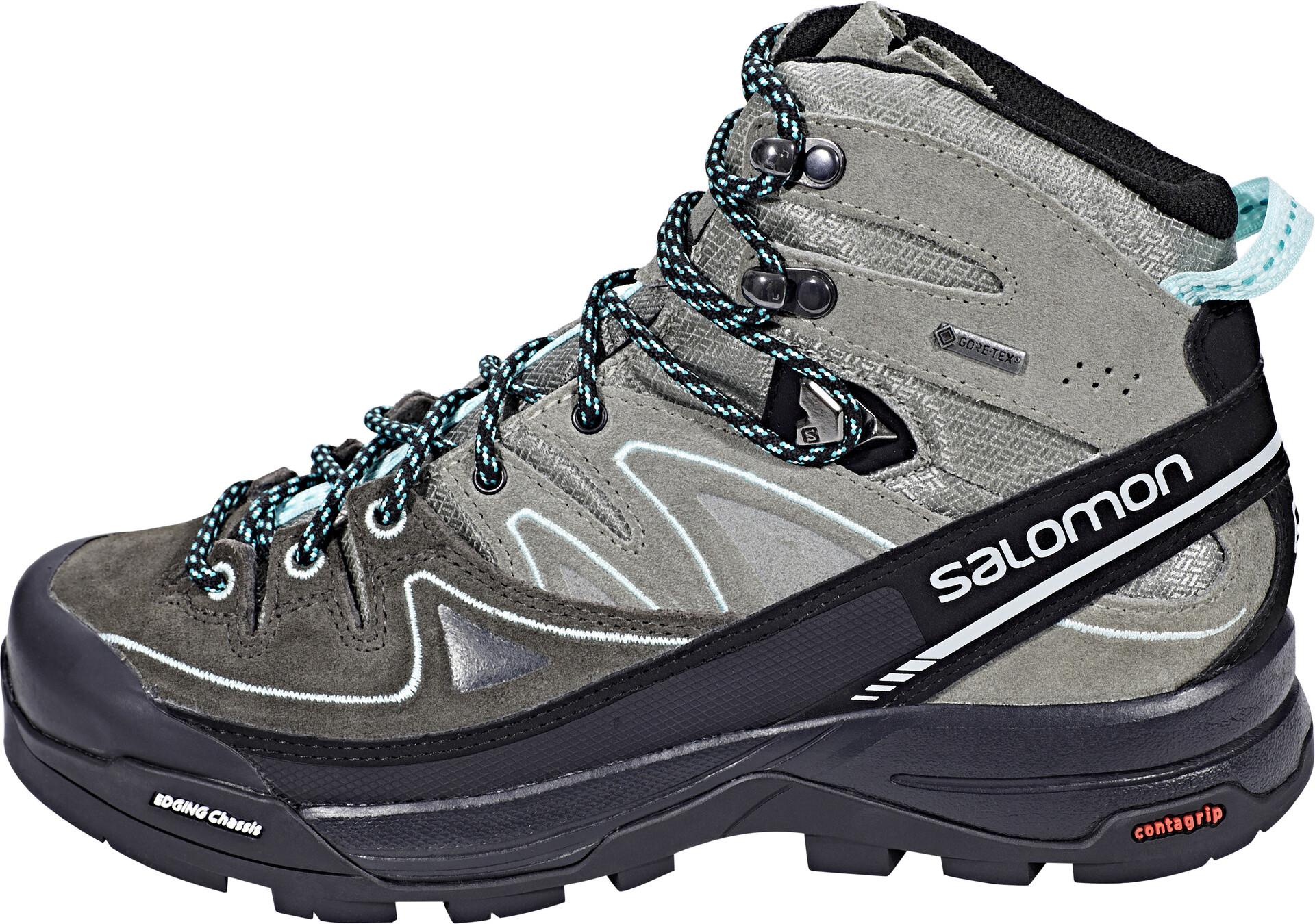Scarpe da scarpe alte da trekking MONTAGNA Salomon X Alp MTN Gtx high GORETEX
